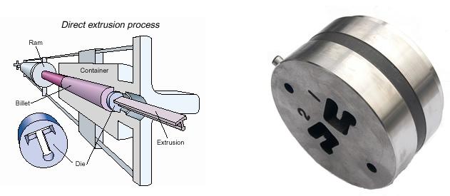 direct aluminium extrusion process - Nevilles Precision Engineering