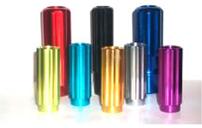 Anodising is useful for thickening the oxide coatings of Aluminium.