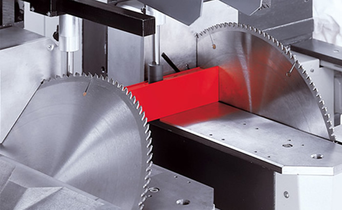 The CNC Mitre Saws are excellent for a high quality service for our customers.