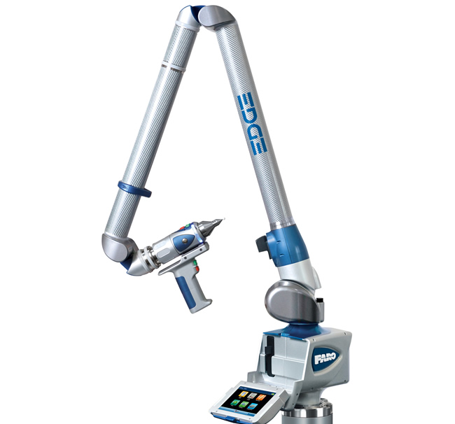 The Faro Inspection Arm for CMM is perfect for inspecting the production quality of a product for a customer.