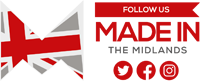 made in the midlands follow us logo