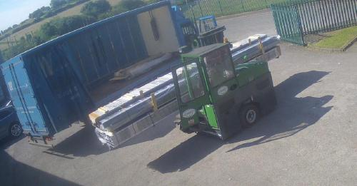 Collection lorry Raw Material
